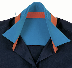 shirt band collar